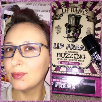 Dr. Lip Bang's Lip Freak Buzzing Balm - Berry Sinister uploaded by Amy B.