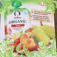 Gerber® Organic 2nd Foods® Baby Food | Pears Peaches & Strawberries uploaded by Jaclyn A.