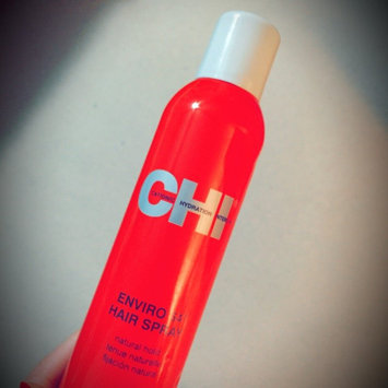 Photo of CHI 12 oz Enviro Flex Hold Hair Spray Natural Hold uploaded by Christina B.