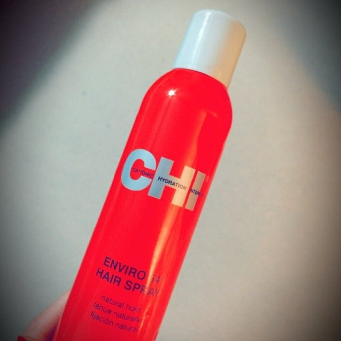 CHI 12 oz Enviro Flex Hold Hair Spray Natural Hold uploaded by Christina B.