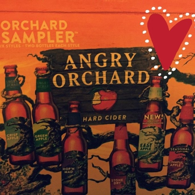 Angry Orchard Cider  uploaded by Amina R.