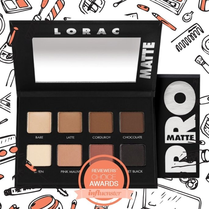 LORAC PRO Matte Eye Shadow Palette (Chocolate/Red/Latte) uploaded by ashley r.
