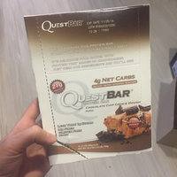 Quest Nutrition - QuestBar Natural Protein Bar Chocolate Chip Cookie Dough - 2.12 oz. uploaded by Sarah L.