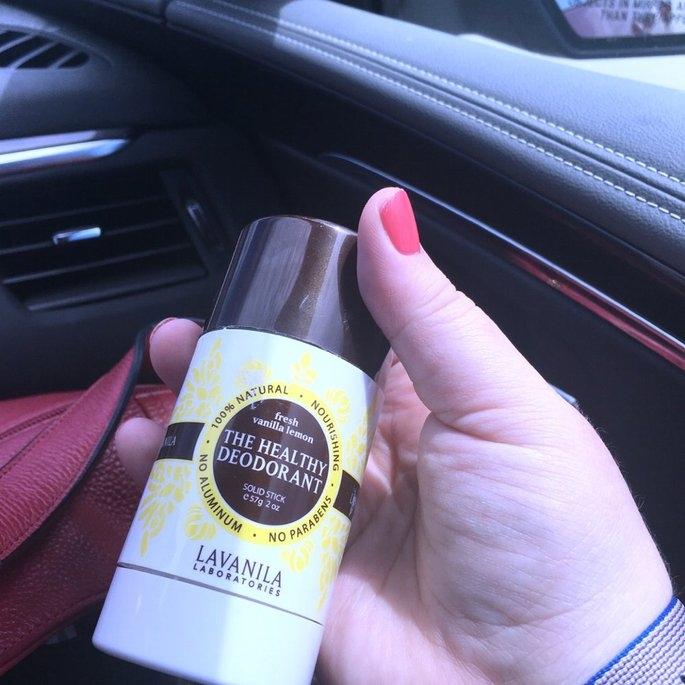 LAVANILA The Healthy Deodorant Fresh Vanilla Lemon 2 oz uploaded by Kim S.