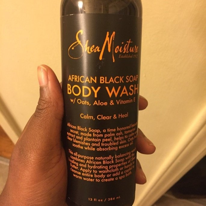 Shea Moisture Organic Argan Oil Raw Shea Body Scrub   uploaded by Eboné S.