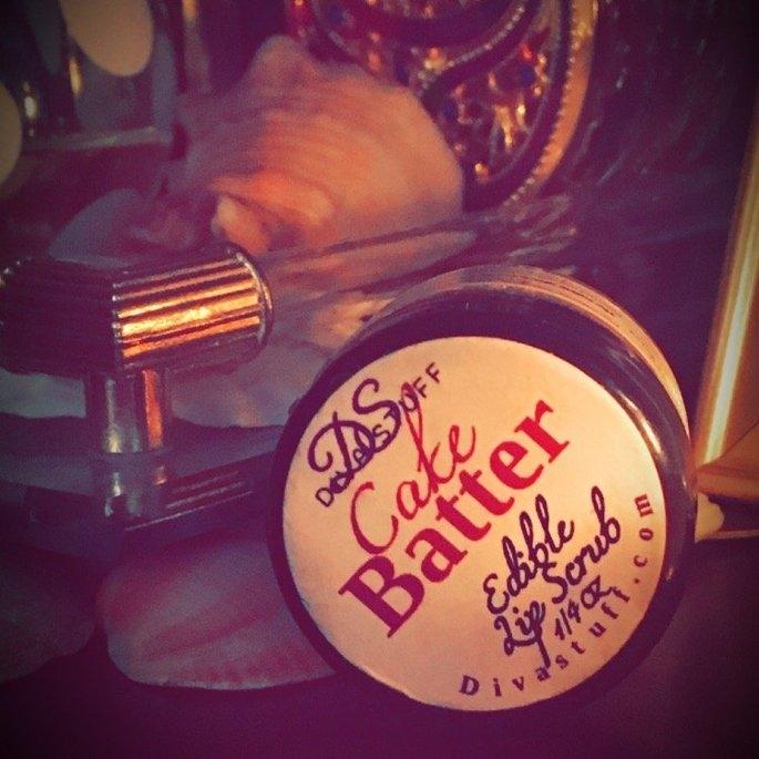 Cake Batter Lip Scrubbie by Diva Stuff - 1/4 ounce uploaded by Nicki D.