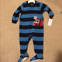 Carter's Baby Boys' 1-Piece Fleece Footed Pajamas [Fire Truck, 12 Months] uploaded by Reeva S.