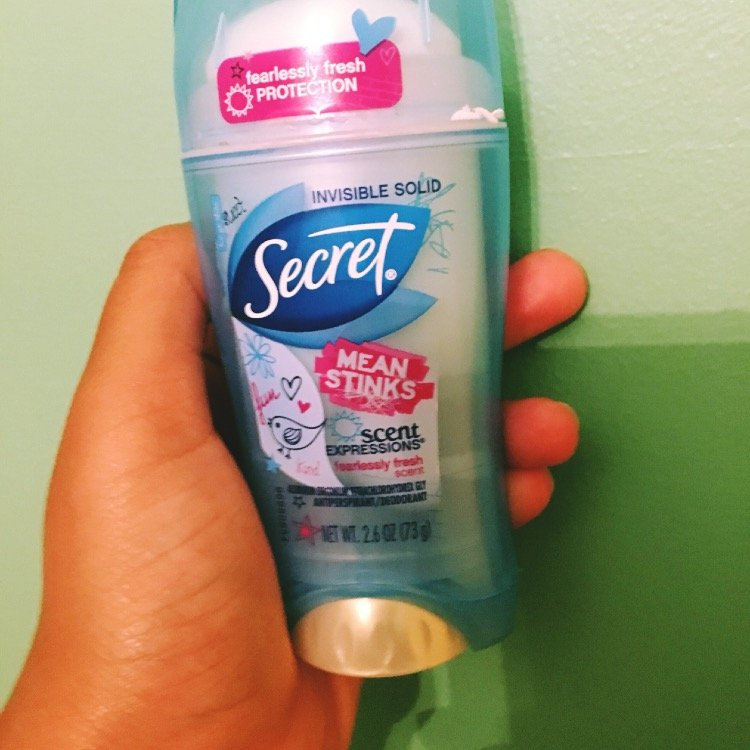 Secret Scent Expressions Invisible Solid Fearlessly Fresh - 2.6 oz