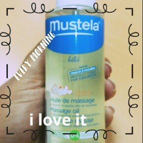 Photo of Mustela Massage Oil 3.38 oz uploaded by Ines O.
