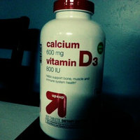 up & up up&up Calcium 600 mg and Vitamin D 400 iu Tablets - 400 Count uploaded by Lauren R.