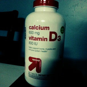 Photo of up & up up&up Calcium 600 mg and Vitamin D 400 iu Tablets - 400 Count uploaded by Lauren R.