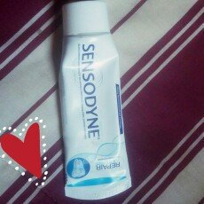 Photo of Sensodyne Repair & Protect Toothpaste uploaded by Jaline B.