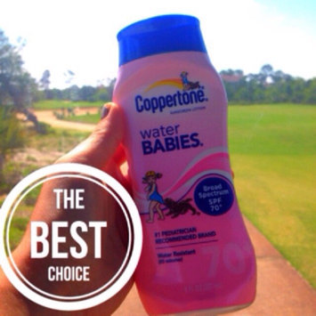 Photo of Coppertone Water Babies Water Babies Sunscreen Lotion uploaded by Lauren D.