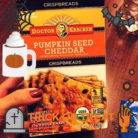 Doctor Kracker Pumpkin Seed Cheddar Crispbread, 7 oz uploaded by Leah R.