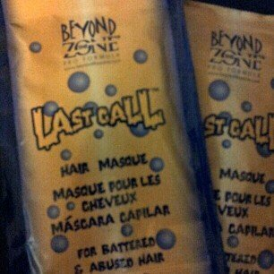 Beyond The Zone Last Call Hair Masque uploaded by Stephanie J.
