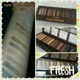 Photo of CITY COLOR Barely Exposed Eye Shadow Palette Day/Night uploaded by Melani G.
