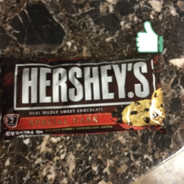Hershey's Special Dark Baking Chips uploaded by Jackie C.