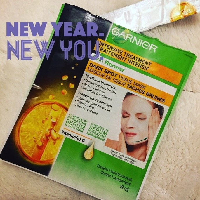 Garnier Skin Renew Dark Spot Treatment Mask - For Dark Spots and uploaded by Dina W.