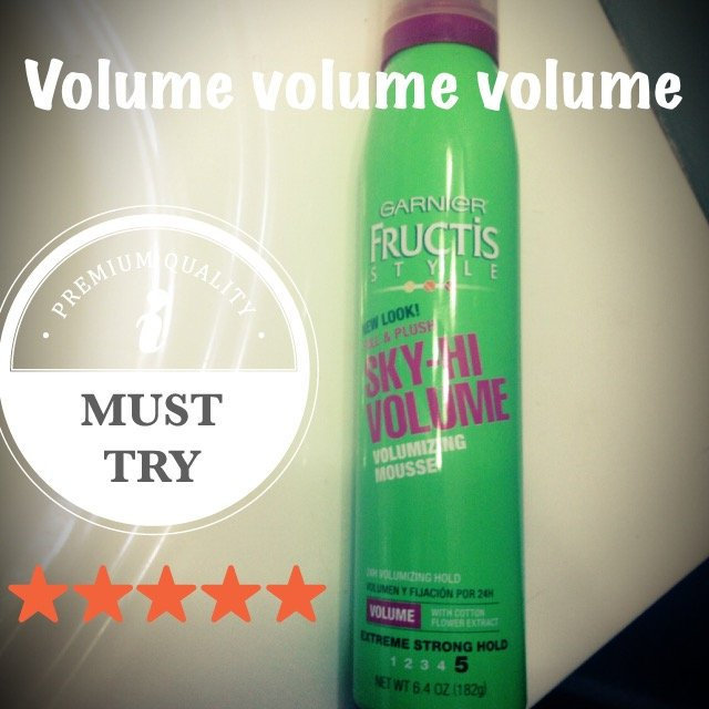 Garnier Fructis Style Sky-Hi Volume Mousse