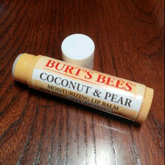 Photo of Burt's Bees Coconut & Pear Lip Balm uploaded by Marcella B.