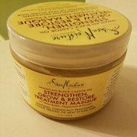 SheaMoisture Strengthen, Grow & Restore Treatment Masque, Jamaican Black Castor Oil, 12 oz uploaded by Erin P.