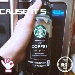 Photo of Starbucks® Black Unsweetened Iced Coffee uploaded by Amanda R.