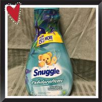Snuggle® Exhilarations® Blue Iris & Bamboo Silk® Concentrated Fabric Softener 50 fl. oz. Bottle uploaded by Sharon S.