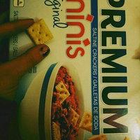 Nabisco Premium Minis Original Saltine Crackers uploaded by Hannah S.