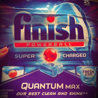 Finish Quantum Dishwasher Detergent, Power & Free, 12 ea uploaded by Tanya R.