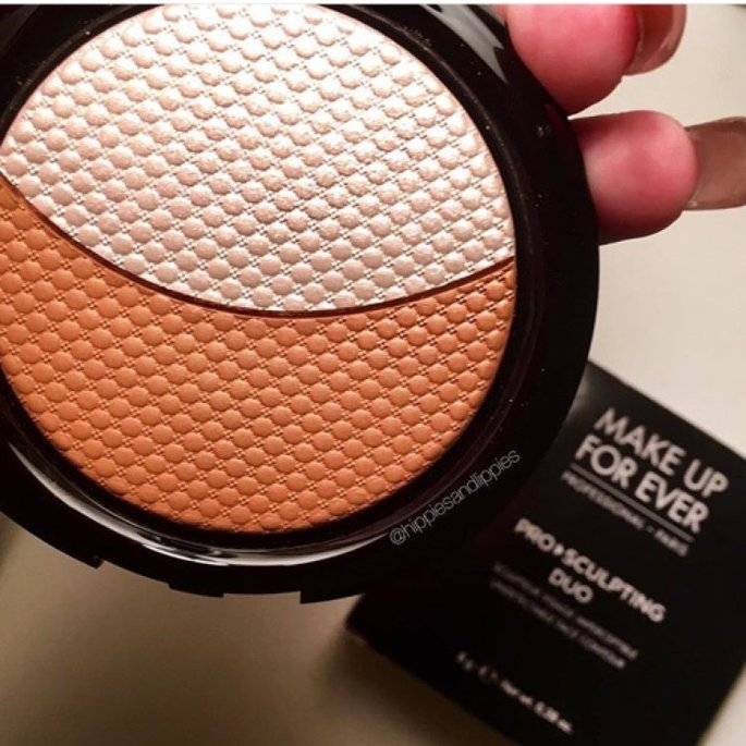 MAKE UP FOR EVER Pro Sculpting Duo 2 Golden 0.28 oz uploaded by Kait S.