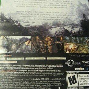 Photo of Bethesda Elder Scrolls V: Skyrim (Xbox 360) uploaded by member-5763be086