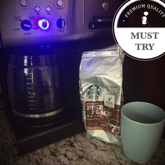 Starbucks Coffee Pike Place Medium Roast Coffee Beans uploaded by Jess L.