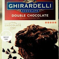 Ghirardelli Double Chocolate Brownie Mix uploaded by Bari O.