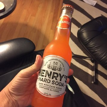 Henry's Hard Soda™ Hard Orange 12 fl. oz. Bottle uploaded by Patricia B.