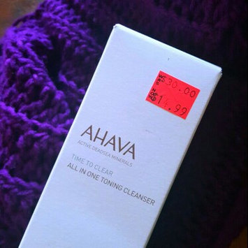 Photo of AHAVA Time To Clear All in One Toning Cleanser uploaded by OnDeane J.