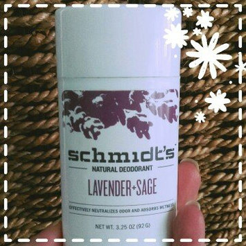 Photo of Schmidt's Deodorant Lavender + Sage Deodorant uploaded by Shawna G.