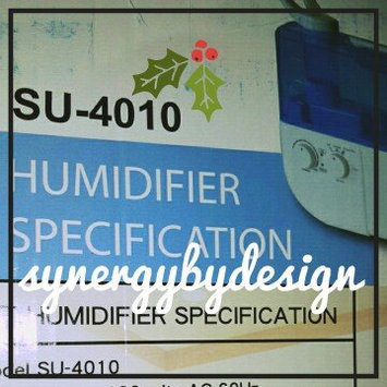 Photo of Sunpentown Dual-Mist Humidifier with Ion-Exchange Filter uploaded by SynergyByDesign #.