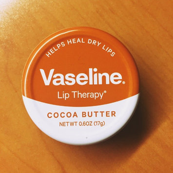 Vaseline® Lip Therapy® Cocoa Butter Lips Lip Balm Tin uploaded by amber k.