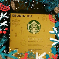 STARBUCKS® Holiday Blonde Roast 2014 K-Cups® uploaded by Lupe B.