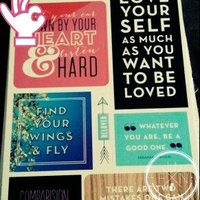Me & My Big Ideas Pocket Pages Clear Stickers 6 Sheets/Pkg-Love Yourself uploaded by Lyndsey K.