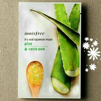 Innisfree It's Real Squeeze Mask 5pcs (Aloe) uploaded by rengganis s.