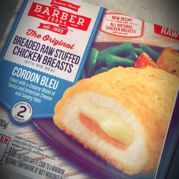 Barber Foods Raw Stuffed Chicken Breasts Cordon Bleu - 2 CT uploaded by Scarlett R.