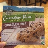 Cascadian Farm Organic Chocolate Chip Chewy Granola Bar uploaded by Sophia A.
