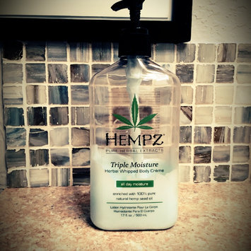 Hempz Triple Moisture Herbal Whipped Body Crème, 17 Fluid Ounce uploaded by Kristen F.