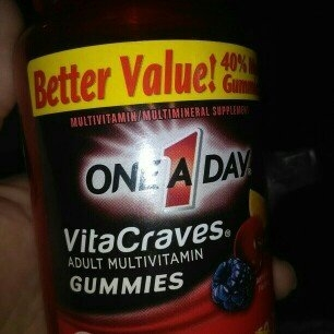 One A Day VitaCraves Adult Multivitamin Gummies, Fruit, 70 ea uploaded by Lara R.