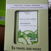 Symphony Beauty Makeup Cleansing Wipes 60 Wipes (Cucumber & Aloe) uploaded by Ape A.