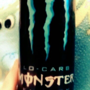 Monster Lo-Carb Energy Drink uploaded by Maelini W.