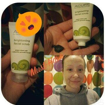 Acure Organics Brightening Facial Scrub uploaded by johannah S.