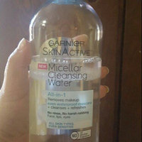 Garnier Skin Skinactive Micellar Cleansing Water All-In-1 Cleanser and Waterproof Makeup Remover uploaded by Jennyfer H.