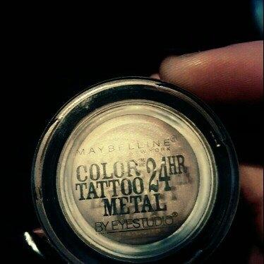 Maybelline Eye Studio Color Tattoo Leather 24HR Cream Gel Eyeshadow uploaded by Kristie R.